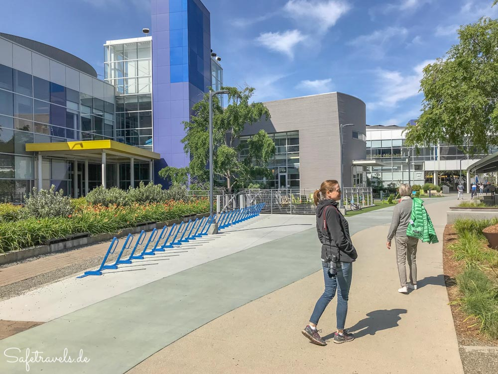 Google Campus in Mountain View
