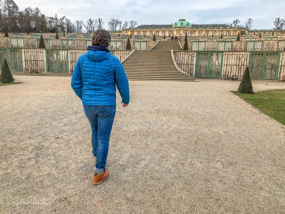 Im Park Sanssouci in Potsdam