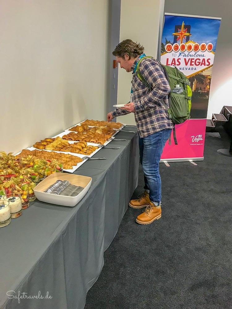 Kulinarische Köstlichkeiten beim USA Pressemorgen