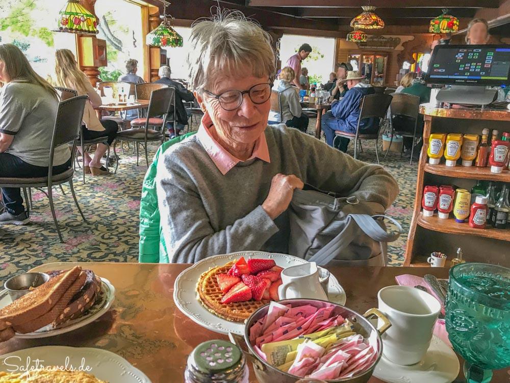 Madonna Inn - Frühstück