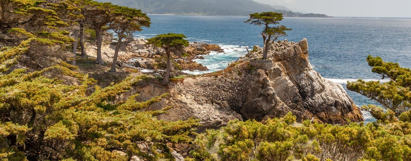 Pacific Coast Highway 17 Mile Drive Blog Titel