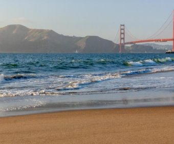 San Francisco Oakland Bay Baker Beach Blog Titel