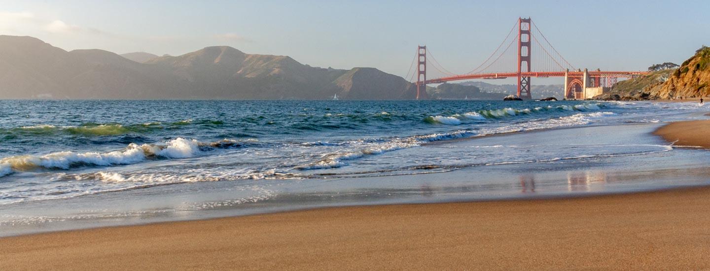 San Francisco Oakland Bay Baker Beach Blog Titel