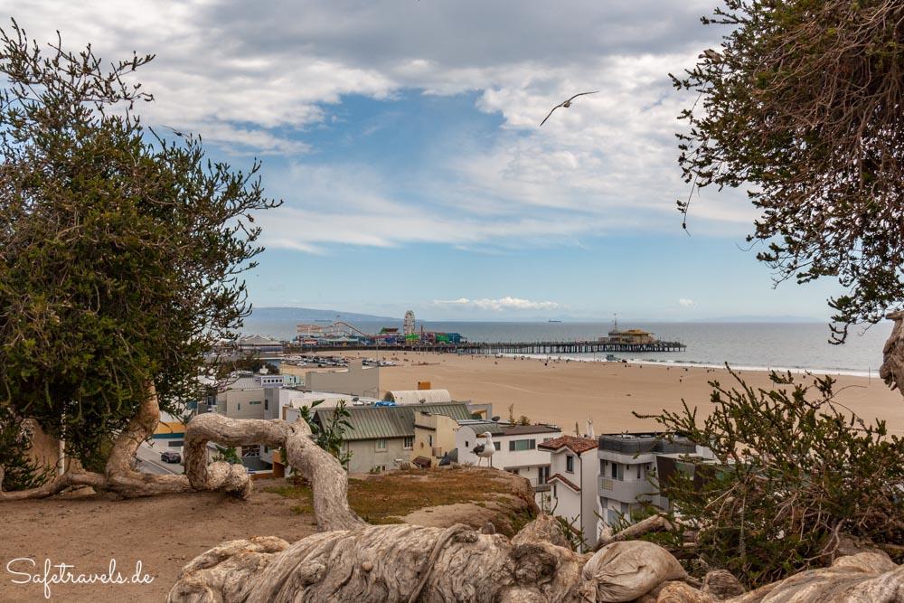 Santa Monica Pier vom Palisades Park