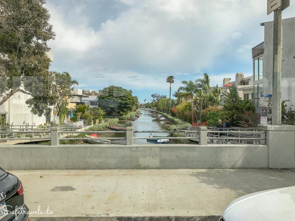 Venice Canals in Venice Beach