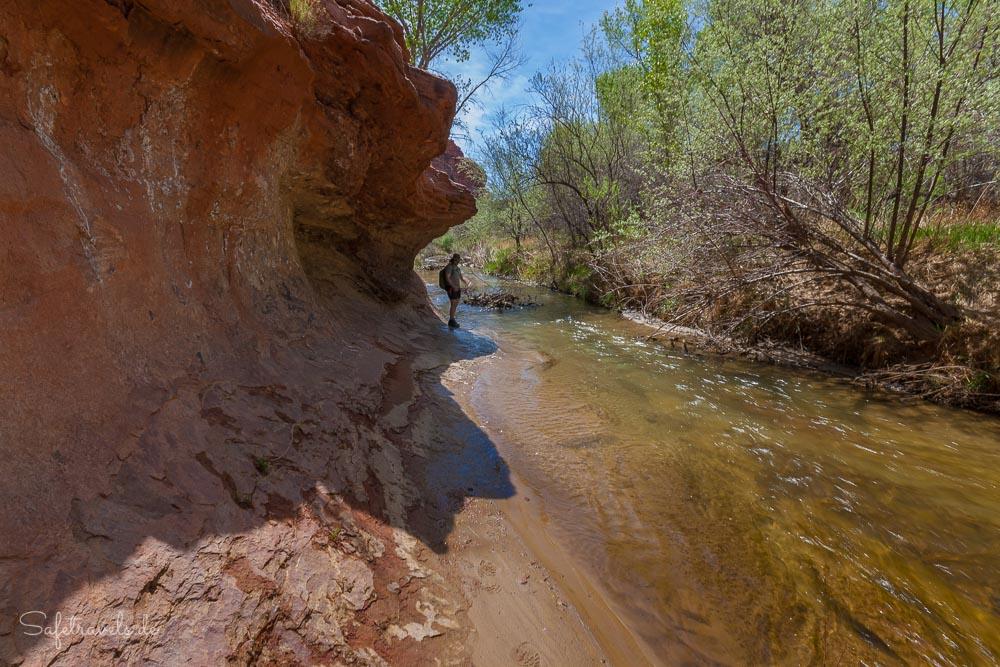 Wanderung im Escalante River Canyon