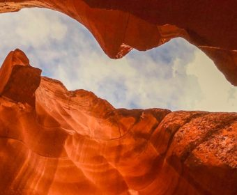 Antelope Canyon Blog Titel