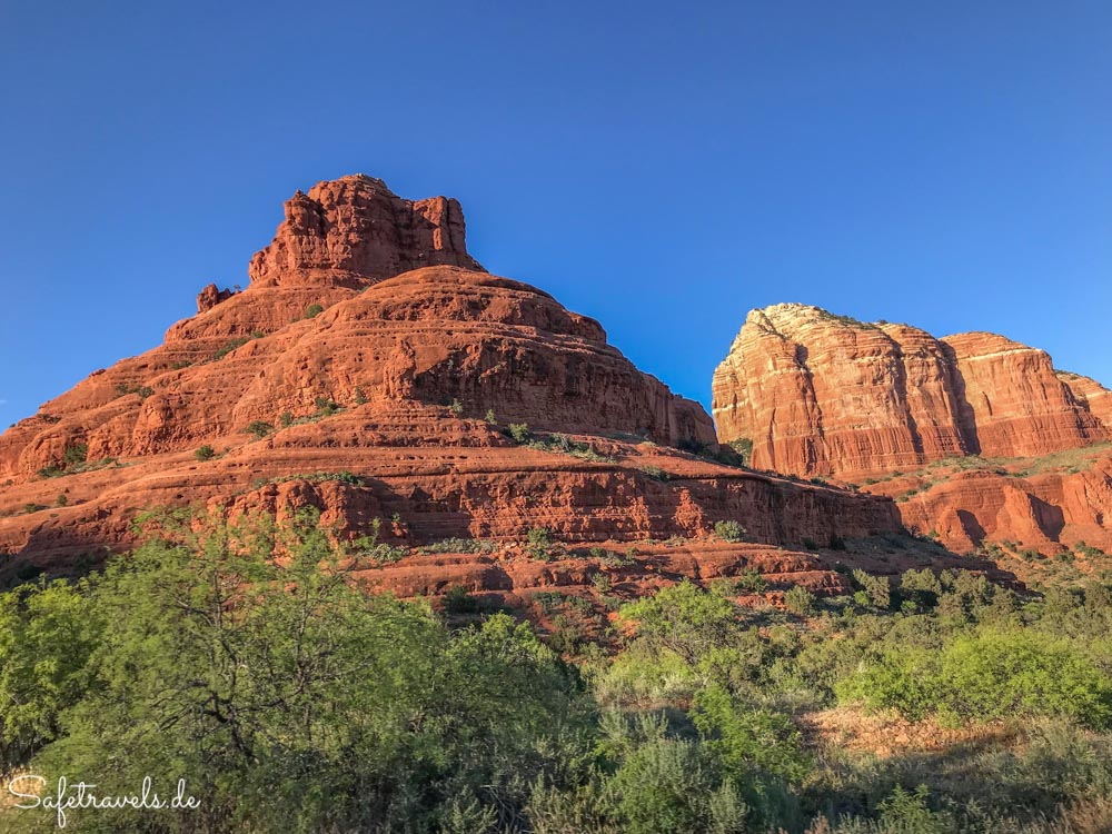 Bell Rock und Courthouse Butte in Sedona