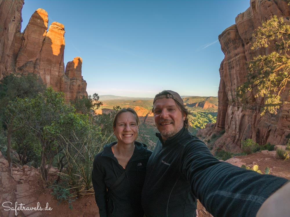 Cathedral Rock Trail - Selfie