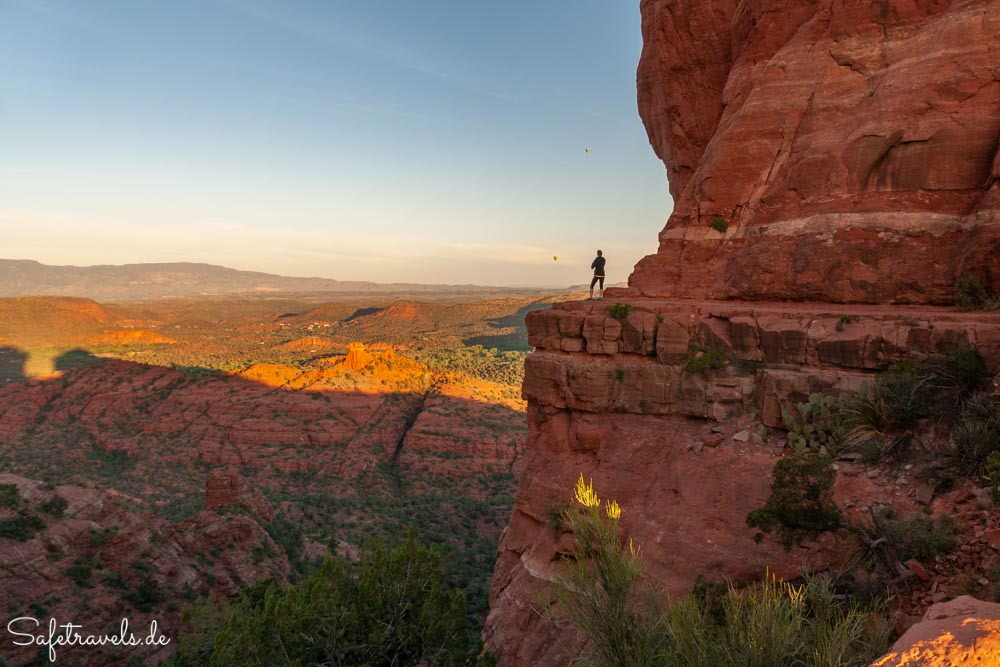 Cathedral Rock Trail - Sonnenaufgang über Sedona