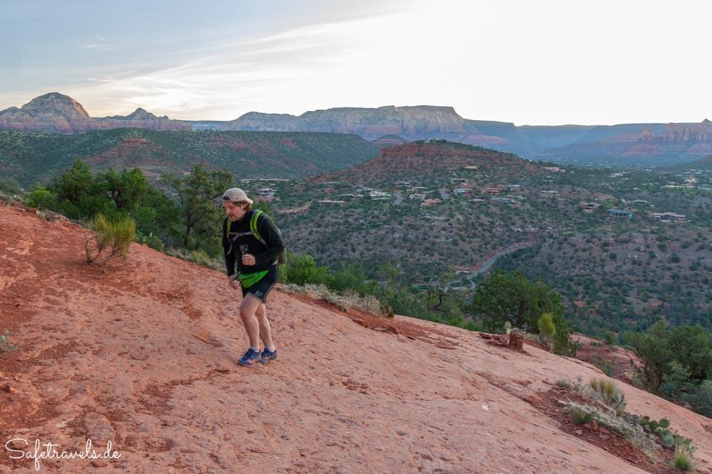 Cathedral Rock Trail - auf dem zweiten Plateau
