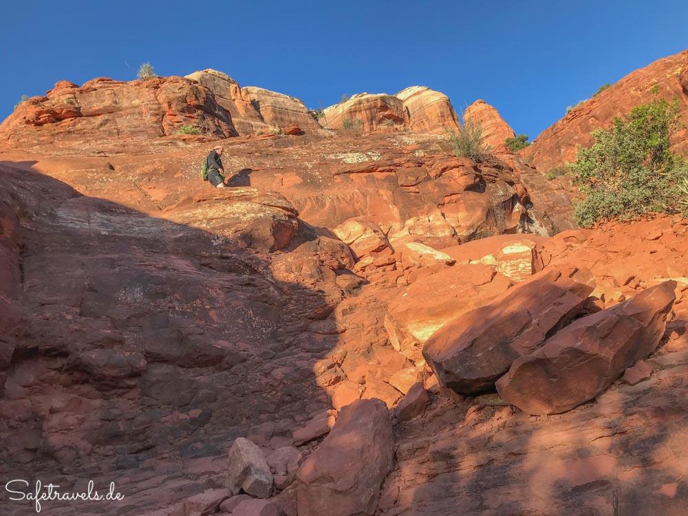 Cathedral Rock Trail - zweiter Abschnitt