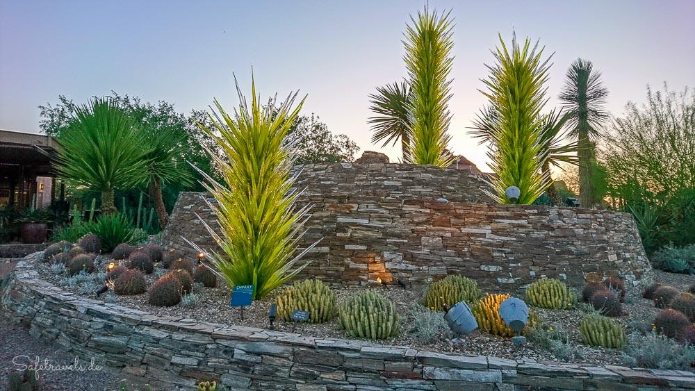 Desert Botanical Garden - Eingang