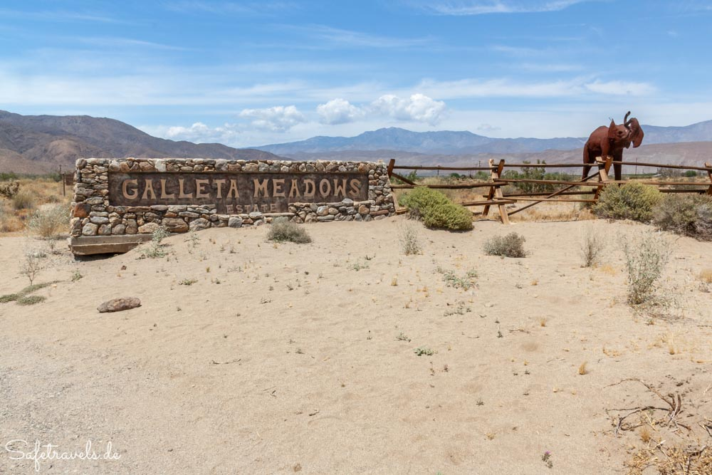 Galleta Meadows Estates in Borrego Springs