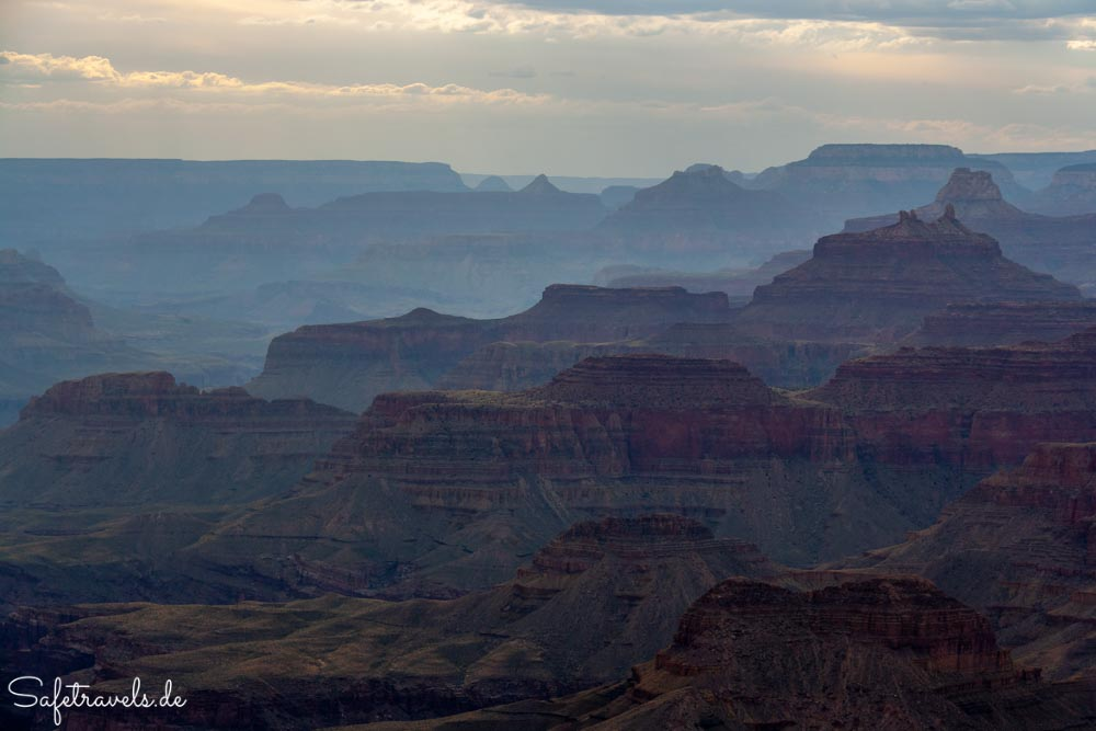 Grand Canyon - Abendstimmung am Lipan Point