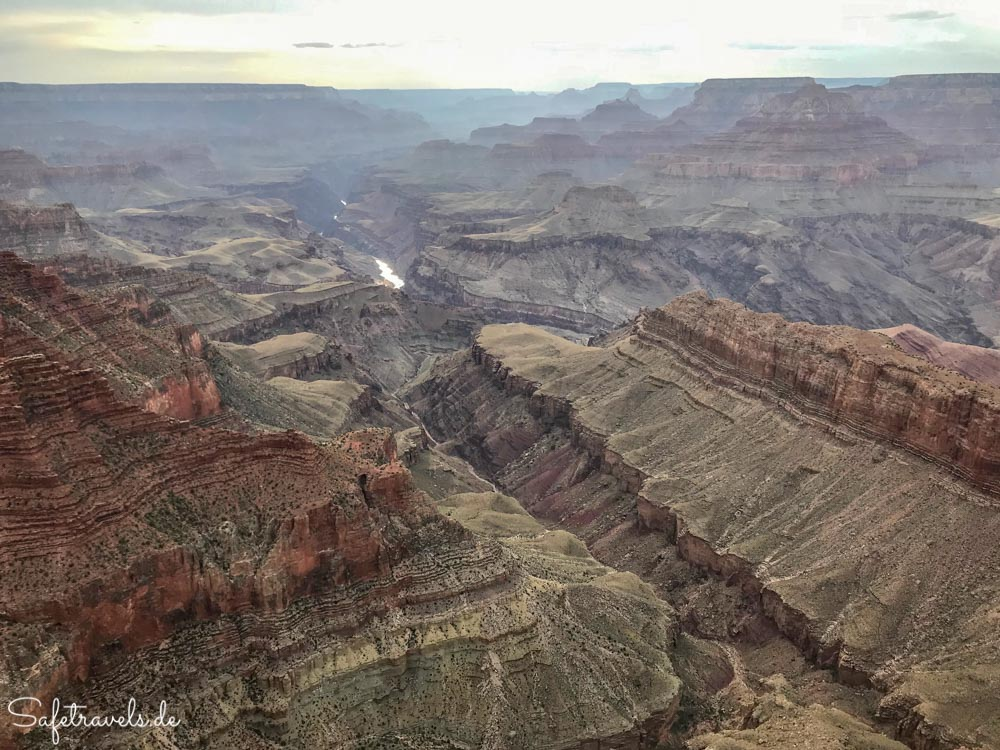 Grand Canyon - Aussichtspunkt Lipan Point