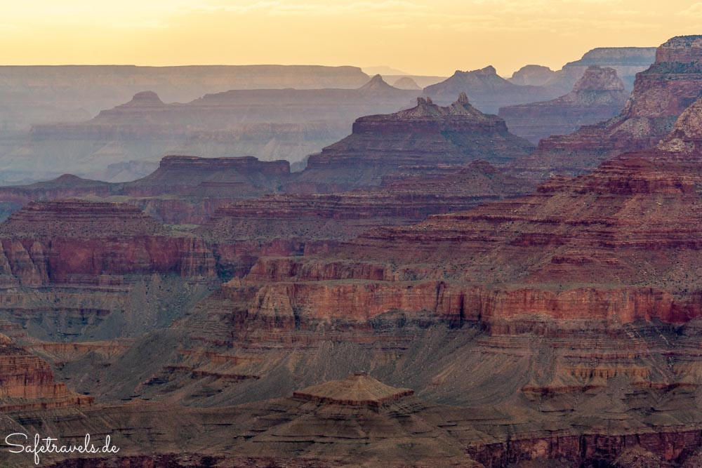 Grand Canyon - Sonnenuntergang am Desert View