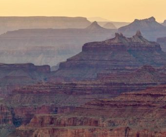 Grand Canyon South Rim Desert View Sonnenuntergang Blog Titel