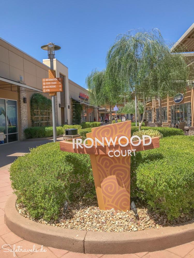 Phoenix Premium Outlets - saubere und gepflegte Outlet Mall