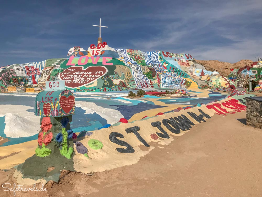 Salvation Mountain in Kalifornien