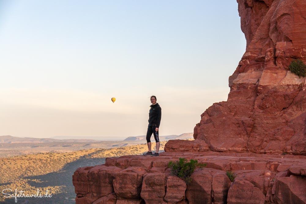 Sedona - Sonnenaufgang mit Heißluftballon