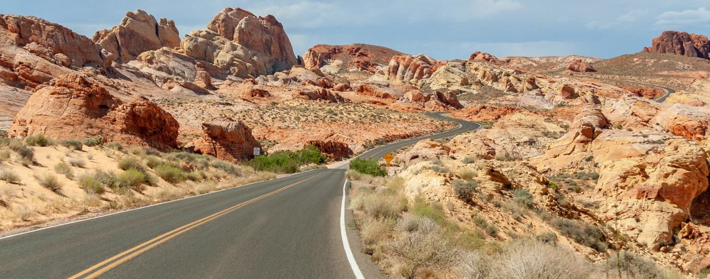 Valley of Fire Mouses Tank Road Blog Titel