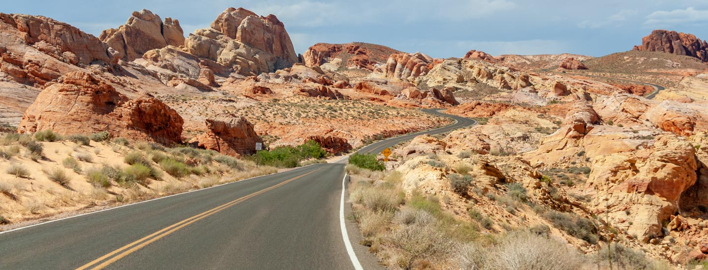 Von Kanab nach Las Vegas über den Zion National Park und das Valley of Fire