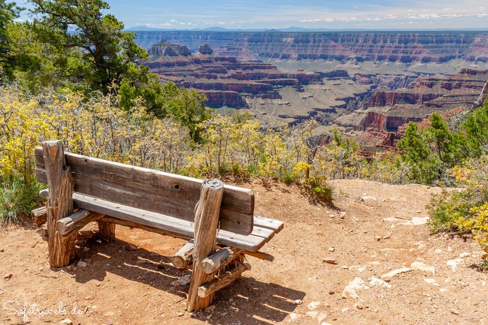 Am Transept Trail nahe der Grand Canyon Lodge