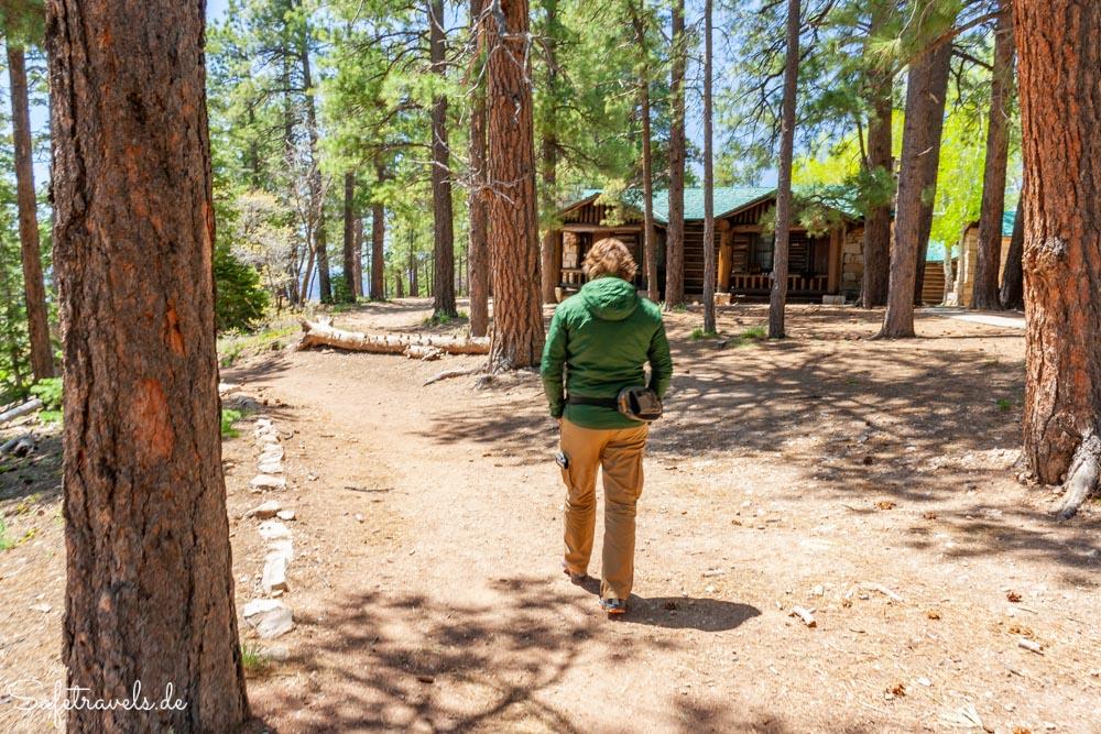 An der Grand Canyon Lodge