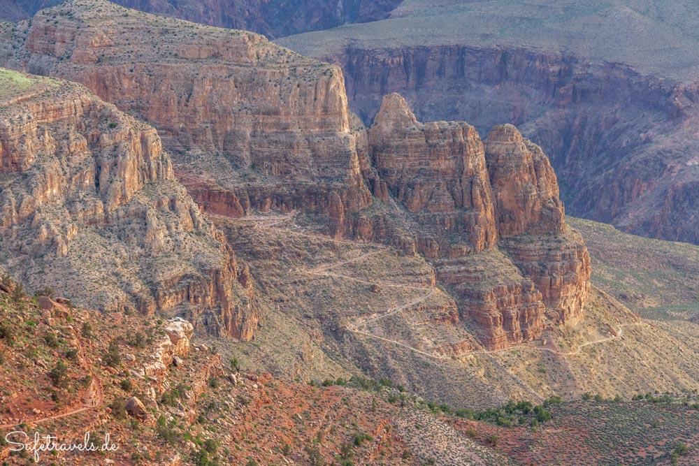 Blick auf dem South Kaibab Trail im weiteren Verlauf