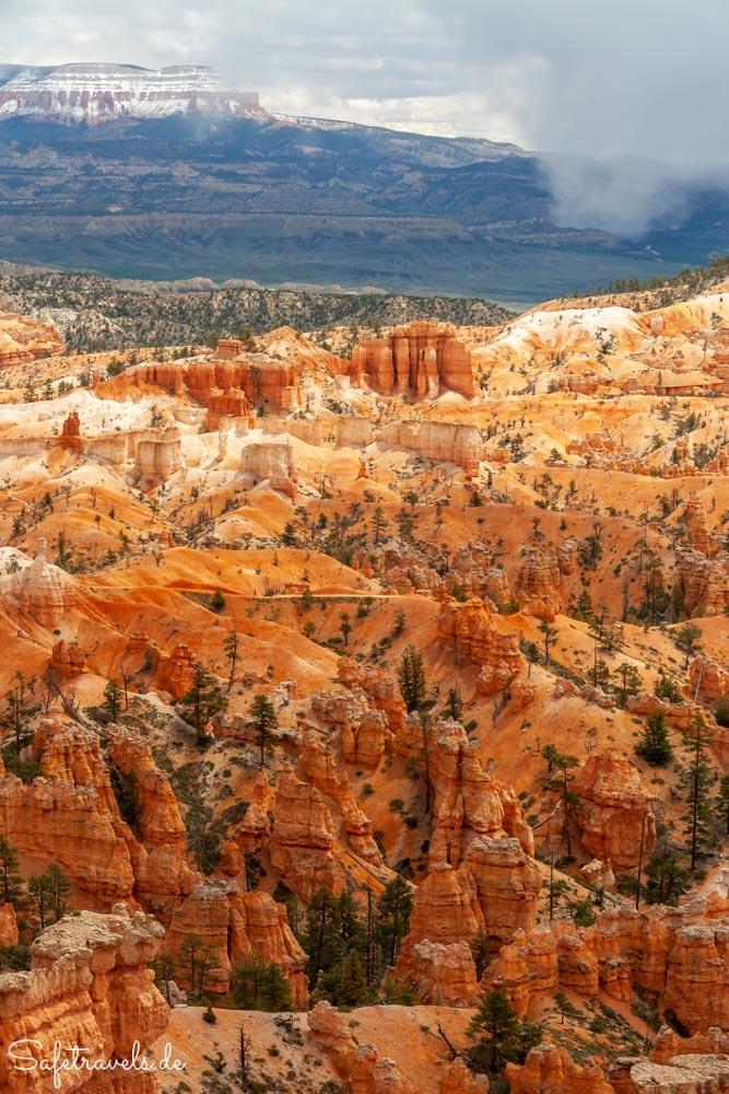 Bryce Canyon - Schnee und Hoodoos