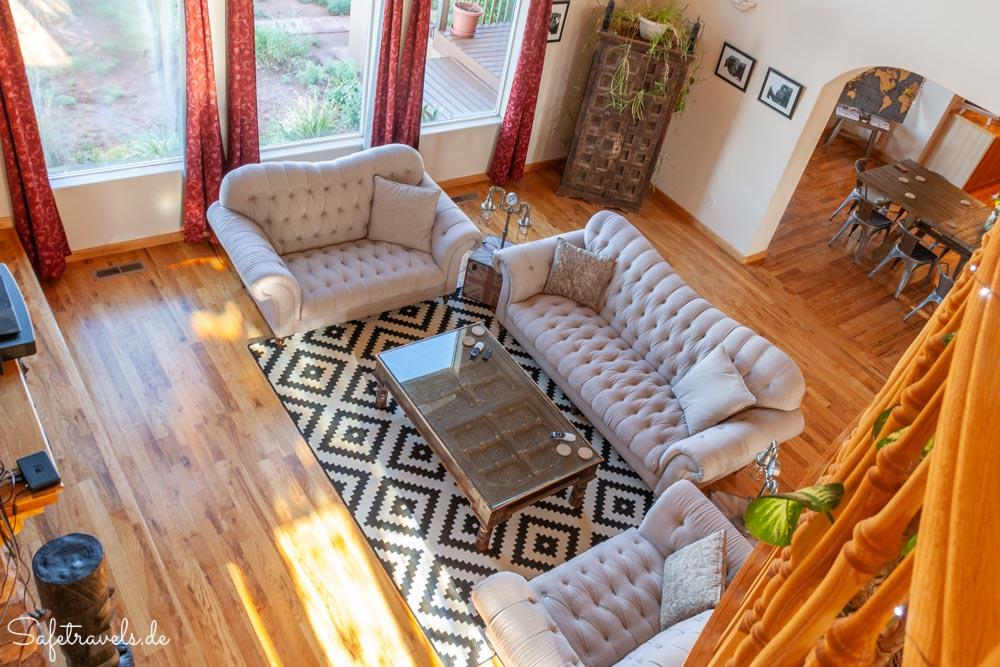 Burro Flats High Desert Lodge - Wohnzimmer