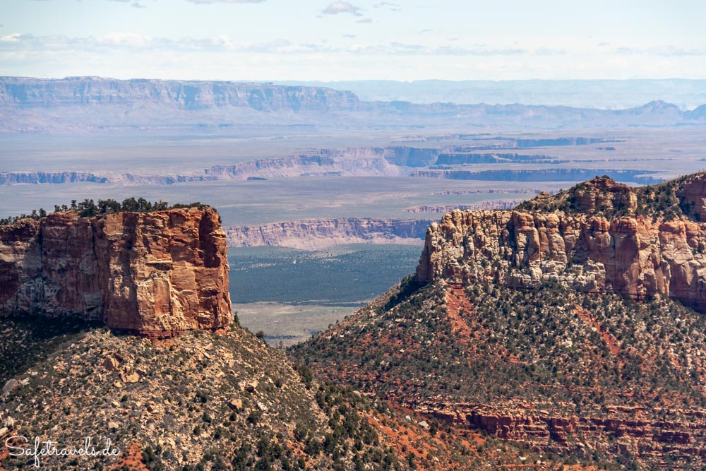 Grand Canyon North Rim - Point Imperail - Blick auf Marble Canyon