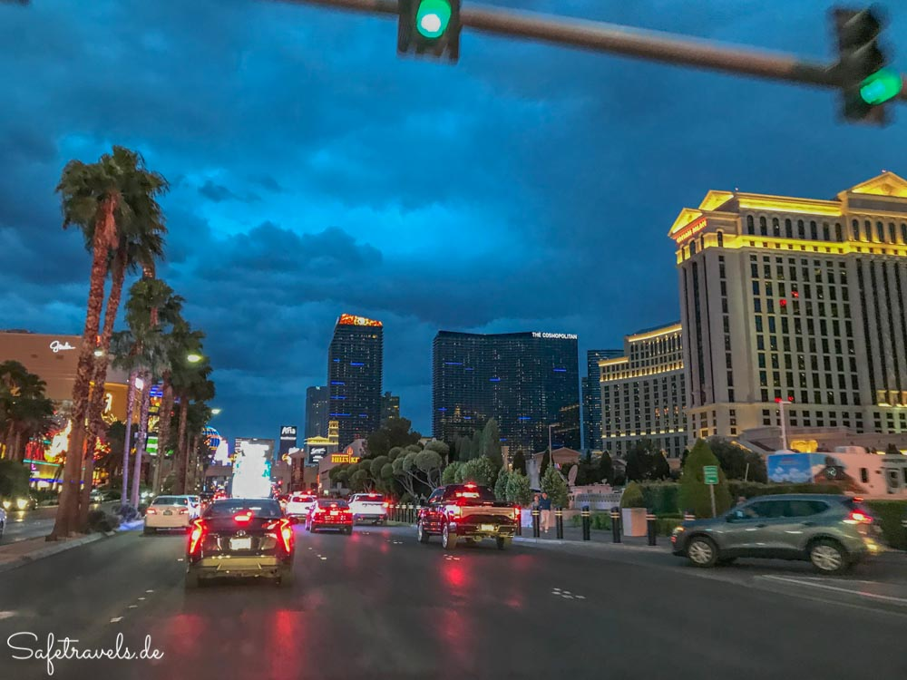 Las Vegas - Caesars Palace und City Center