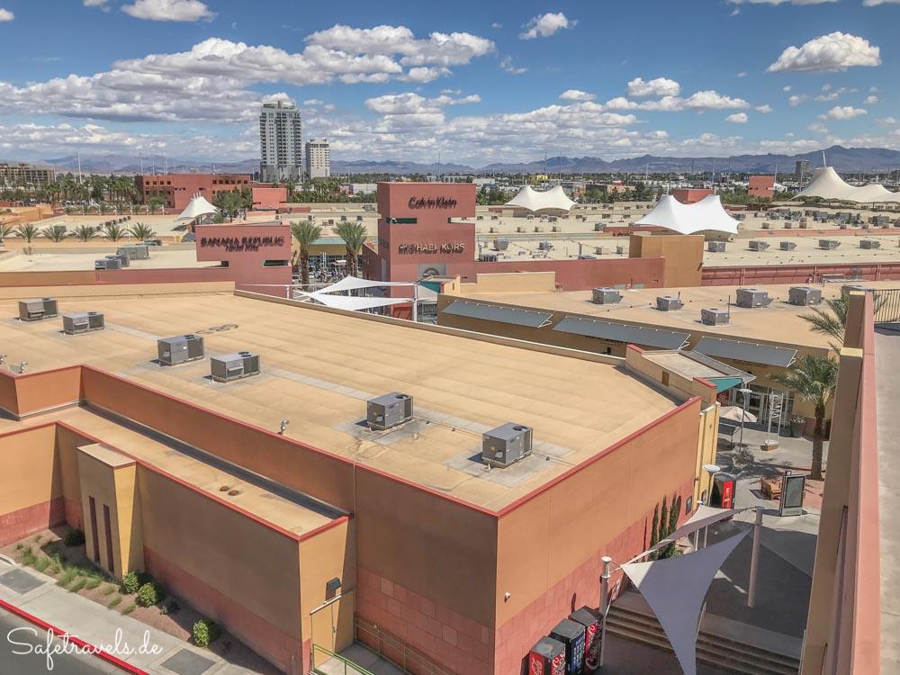 Las Vegas Premium Outlets North - Blick über die Dächer