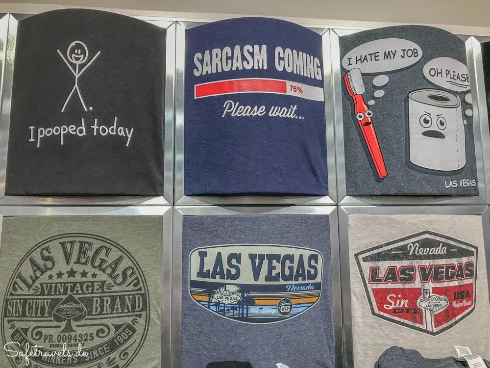 Las Vegas Premium Outlets North - lustige T-Shirts