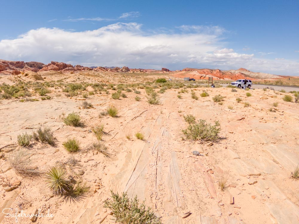 Valley of Fire - am Parking Lot 2