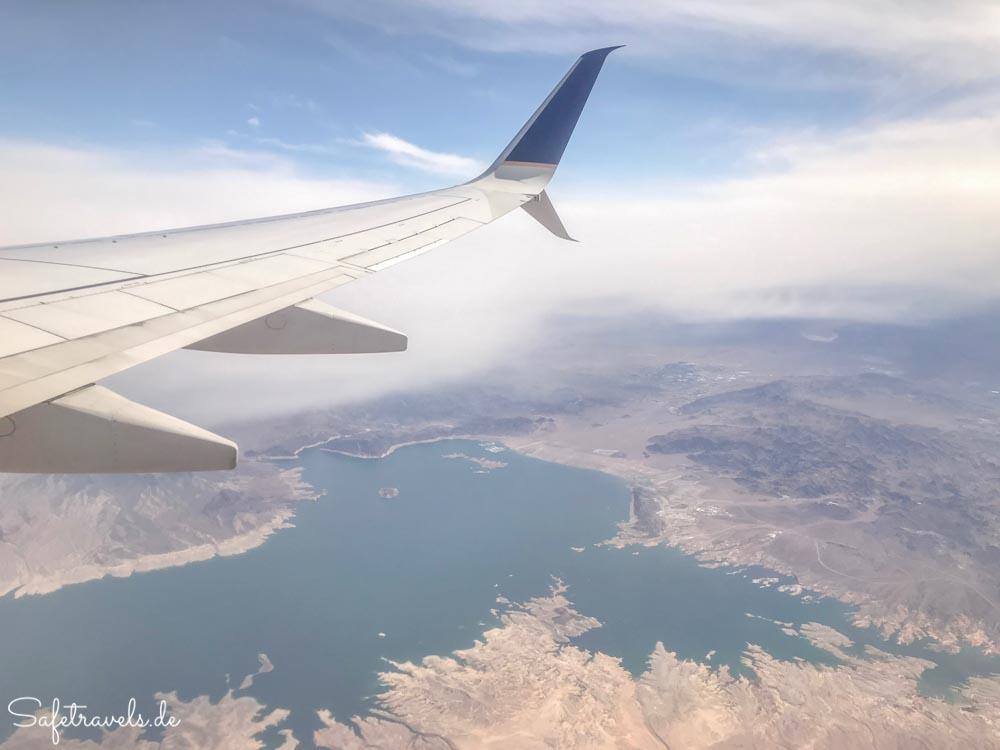 Abflug von Las Vegas - Lake Mead