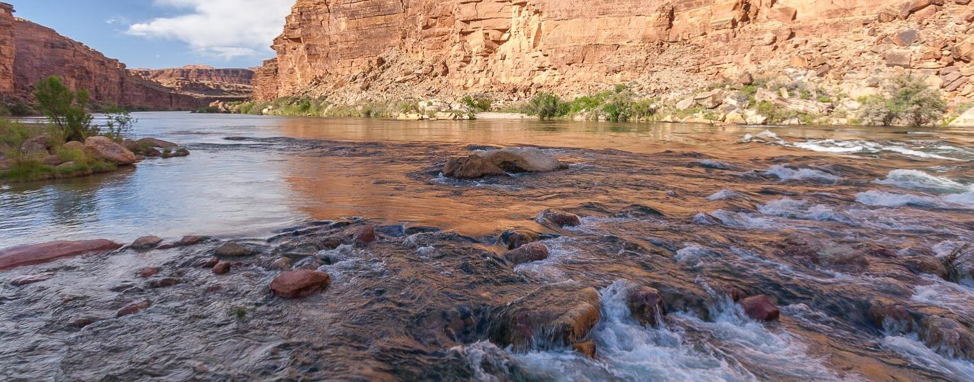 Cathedral Wash Marble Canyon Blog Titel