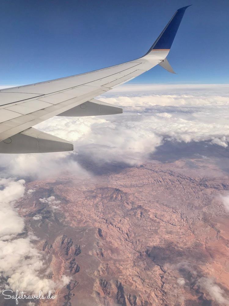 Irgendwo über Utah