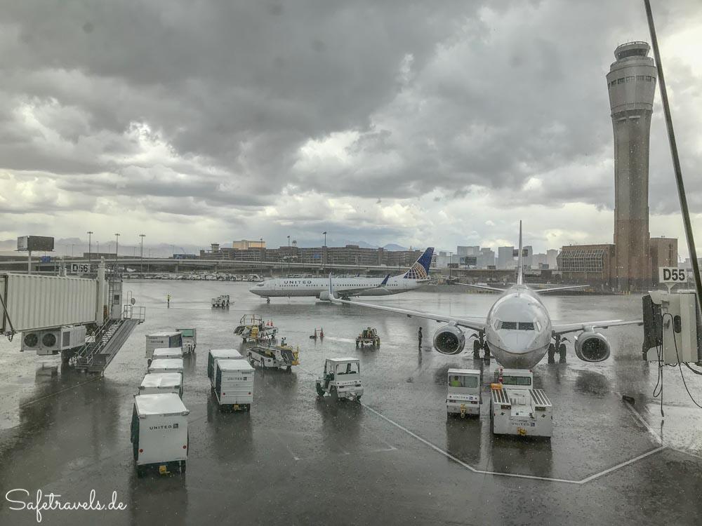 Las Vegas - Abschied im Regen
