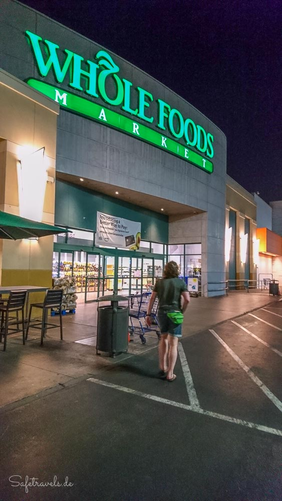 Las Vegas - Shopping bei Whole Foods