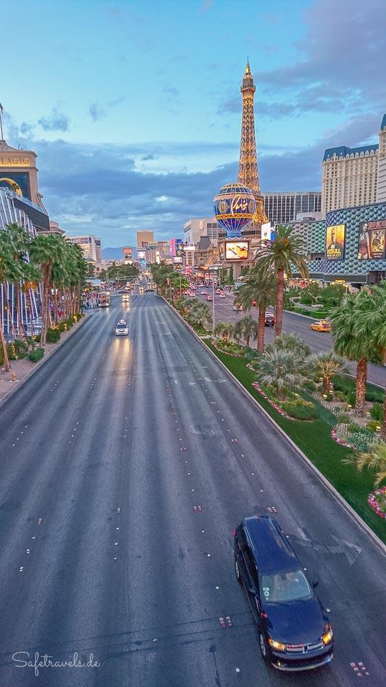 Las Vegas Strip Sonnenuntergang