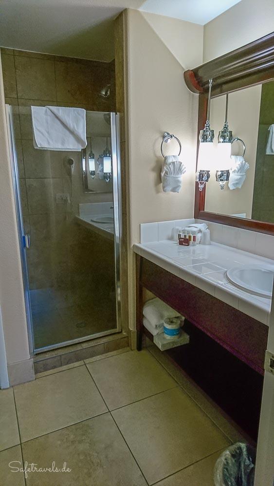 Las Vegas - Suite im Tuscany Suites & Casino - Bad