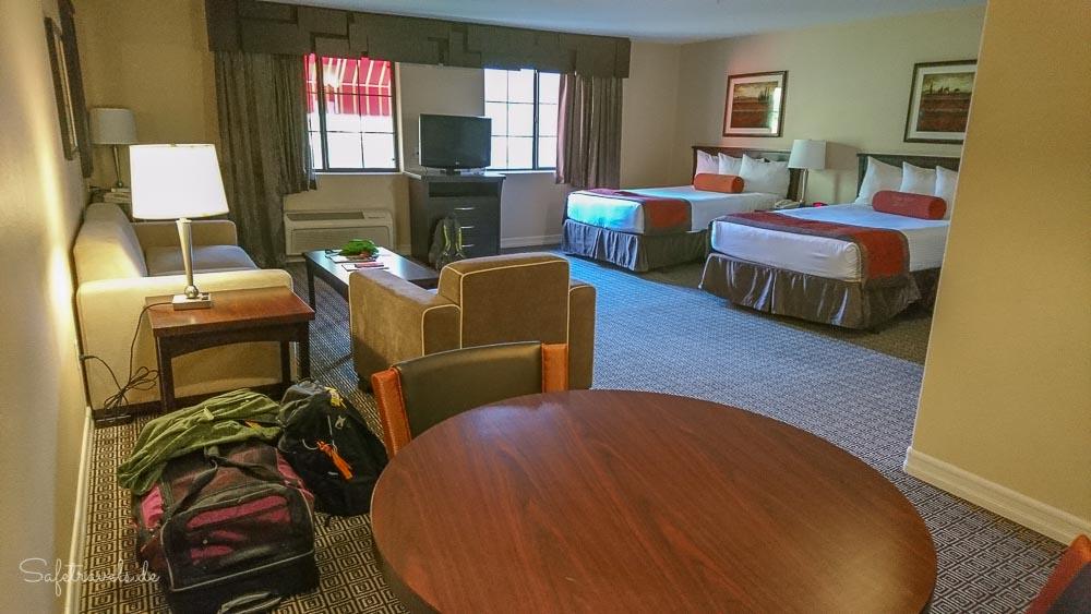 Las Vegas - Suite mit zwei Queen Betten im Tuscany Suites & Casino