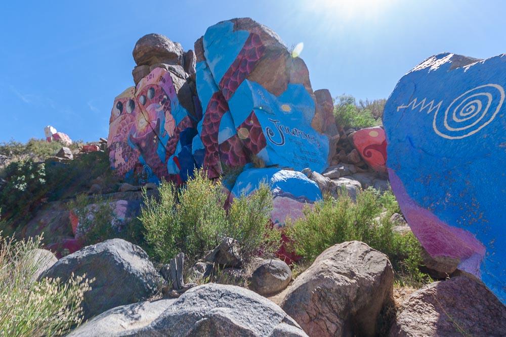 Streetart in der Wüste - Chloride Murals