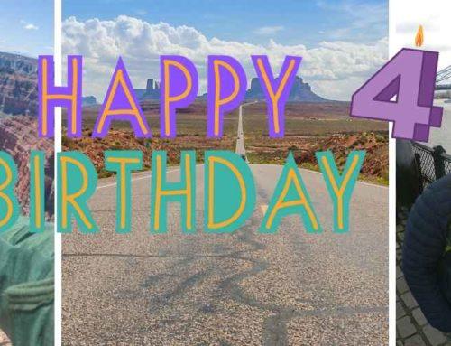 Vier Jahre Safetravels.de – wir feiern Blog-Geburtstag