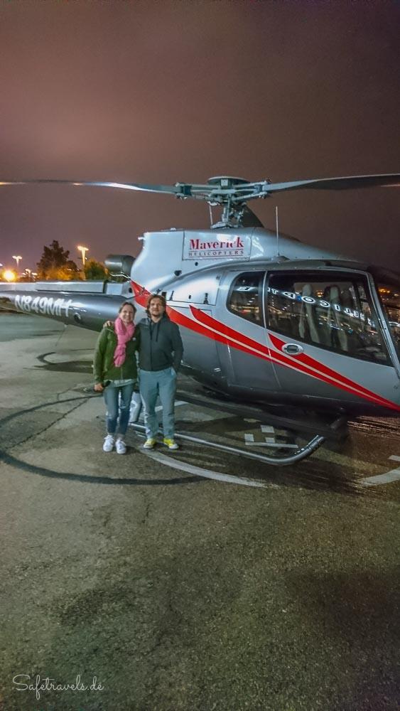Las Vegas Helikopterflug bei Nacht