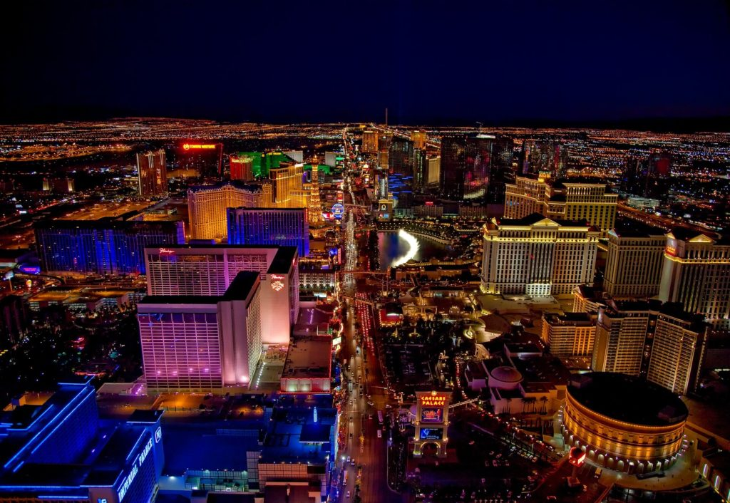 Las Vegas Nights Helikopter