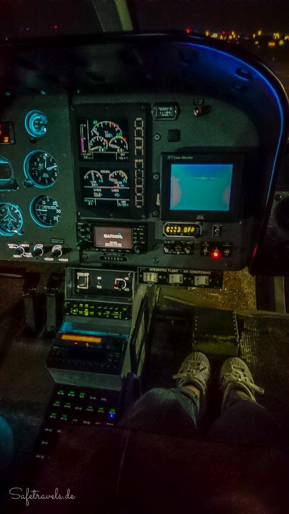 Las Vegas - im Maverick Helikopter